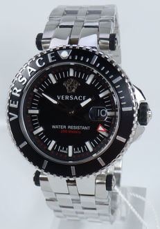 Versace Uhr Watch – V-RACE DRIVER – Men's – Chrono – Swiss Made – New – Original Packaging – Retail Price:1690€