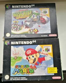 2 Nintendo 64 games : Super Mario 64  +  Mischief makers