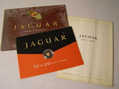 Jaguar - lot of 3 brochures - 1959
