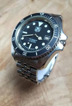 Tag Heuer Professional 200m. Ref. 844/5 Diver - Men's watch - 1985