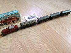 Märklin H0 - 3064/4000/4005 - with 4 carriages, including 1 compartment carriage with brakeman's cab