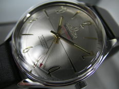 Atlantic Worldmaster - oryginal - Swiss made - men's watch - 1970s - Big line - FHF969 - 17 Jewels - state collector