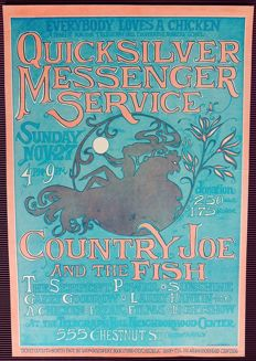 "Rare Quicksilver Messenger Service  psychedelic "" Dance"" Concert"