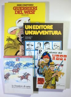 Lot of 4x PCs - The West - various covers (1975-98)