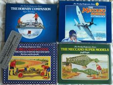 Meccano - Lot with 4 books from The Hornby Companion Series - 1986/1992