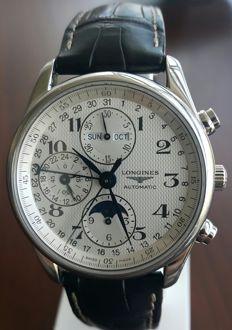 The Longines Master Collection Moonphase, Men's Wristwatch