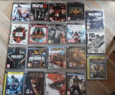 Playstation 3 - 19 games. Like Ratchet Clank + goldeneye 007 + battlefield 4 + maffia 2 and more