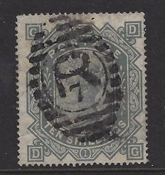 Great Britain 1883, Queen Victoria - 10shilling, Stanley Gibbons 128