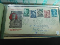 Netherlansd 1951/1986 - collection FDCs and special covers