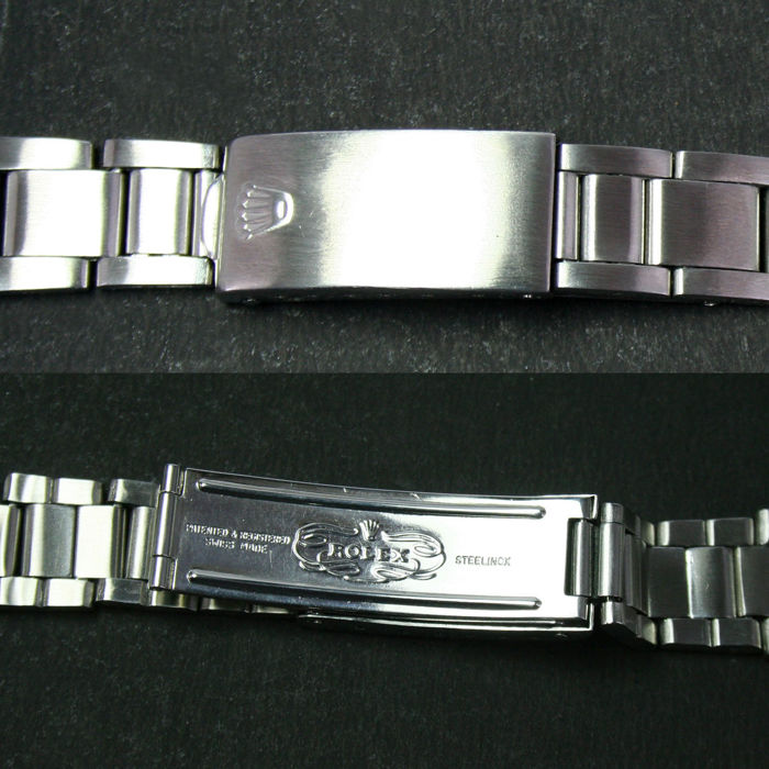 Rolex Oyster Steel Band Ref. 7835 19 End Link 357