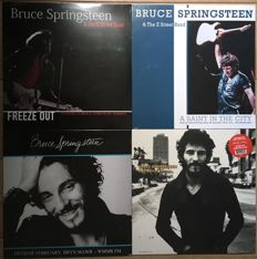 Great collection of live recordings from Bruce Springsteen II 4 LP's II Mint in sealing