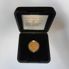 The Netherlands - Ducat 1991 Beatrix in coffer - gold