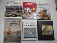 Marine - Lot of 6 volumes - 1966/1982