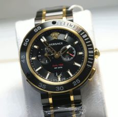 VersaceV-Extreme Pro Dual Time 2 time zones men's watch never worn