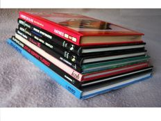 7 Automobile books; Lot with 7 publication concerning spectacular British Cars - 1984/2004