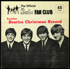 Another Beatles Christmas Record (Extremely Scarce 1964 Official UK Limited Christmas 'Flexi-disc' Mono Single in Excellent Condition)