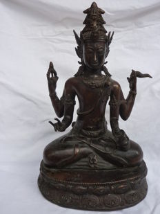 Bronze figurine - Indonesia - second half of 20th century