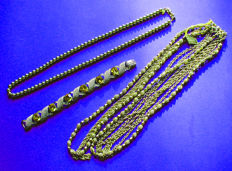 Striking & Wonderful Vintage Lot ! One Necklace by 'Vendome' and one by 'Coro' !