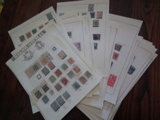 Italy, Kingdom 1963-1946 - Stamp collection in album sheets