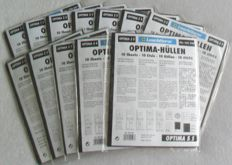 Accessories - Leuchtturm OPTIMA collection sheets for, among others, banknotes (120 pieces)