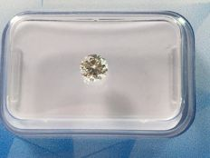 Brilliant cut diamond 0.33 ct STW J SI 2 with HRD certificate