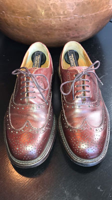 Greve - brogues (handmade) men's shoes