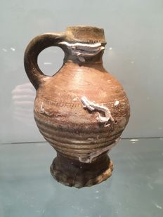 Small old terracotta jug from our region
