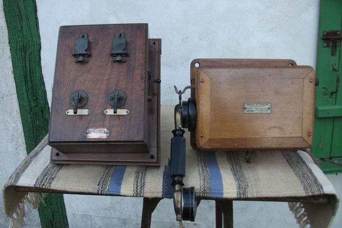 Telephone set from the early 20th - Thomson - Houston et Picart - Lebas