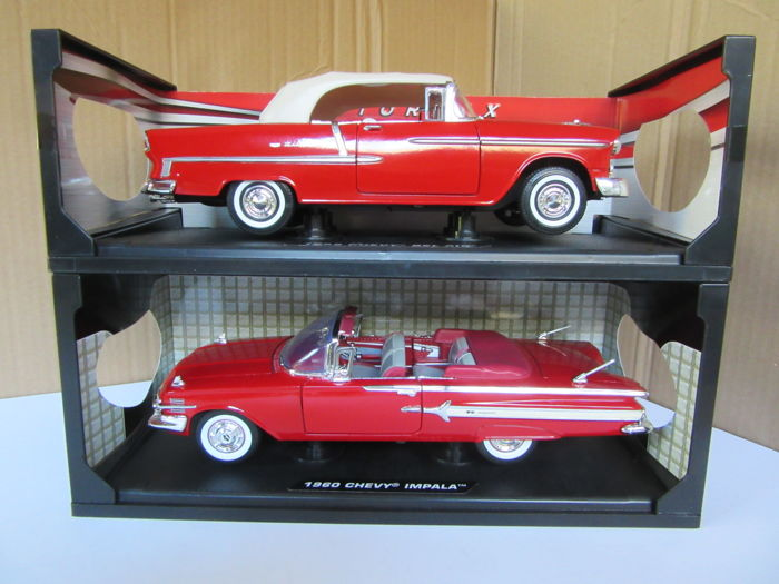 Motormax Scale 1 18 Chevrolet Chevy Bel Air 1955 And Chevy