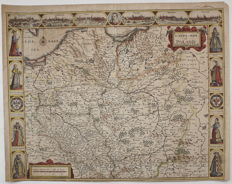 Poland; John Speed - A Newe Mape of Poland Done into English by I. Speede - ca. 1626