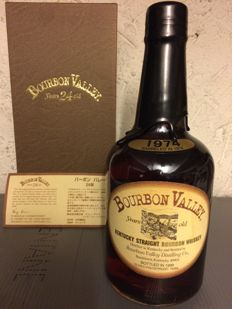 Bourbon Valley 24 year old  Distilled 1974 Bottled 1999, one of 5000 bottle