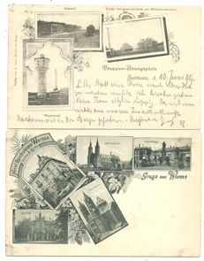 Germany - Party of postcards German villages and towns 86 x