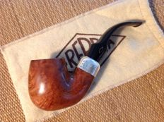 "Brebbia ""First"", Silver 925 band, Full bent pipe, great smoker!!!"