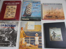 Marine  - Lot of 6 volumes  - 1960/1992