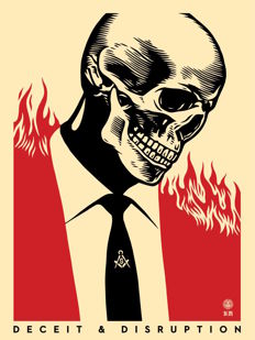 Shepard Fairey (OBEY) - Deceit & Disruption