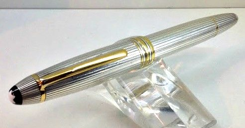 Montblanc Meisterstuck Solitaire 146 The great silver fountain pen
