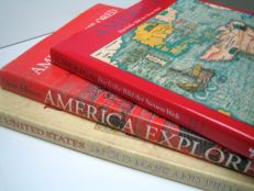 USA; lot with 3 reference works about the USA - 1990 / 1992