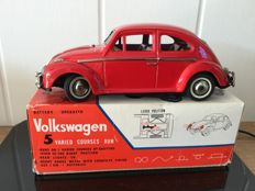 Bandai, Japan - Length 27 cm - Tin Volkwagen VW Beetle with battery engine, 1960s