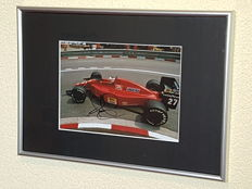 Nigel Mansell - Worldchampion Formula 1 -  hand signed framed photo + COA.