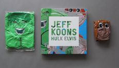 Jeff Koons - Hulk Elvis Book & Pop Art Inflatables Set