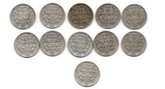 Portugal Republic - 11 coins - 2½ Escudos from year 1932 to 1951 - Silver