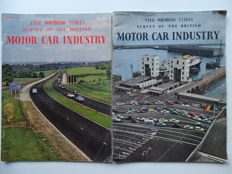1961 - 1962 - British Motor Car Industry survey - Mixed lot of 2 special editions of The Times magazine