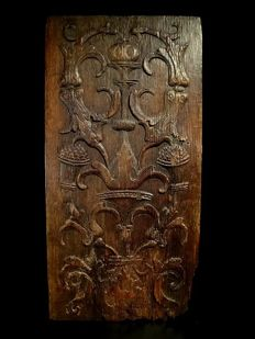 Oak wood panel - France - Renaissance - 16th century