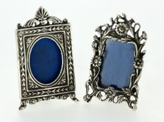 Vintage Sterling Silver Miniature Picture Frames, London Import 1991
