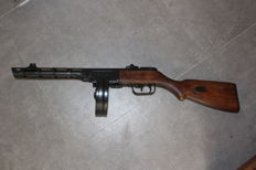 PPSH 41 submachinegun