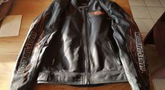 Harley-Davidson - Black leather men's jacket - size S