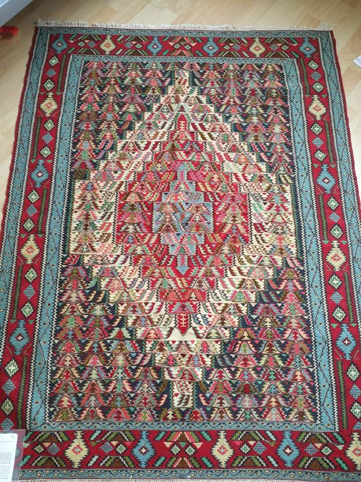 Persian rug Senneh kilim, like new