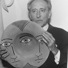 Robert Cohen/AGIP/Interpress - Jean Cocteau, 1960s