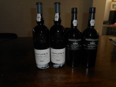 1997 Vintage Port:  2x Taylor's & 2x Skeffington - 4 bottles in total