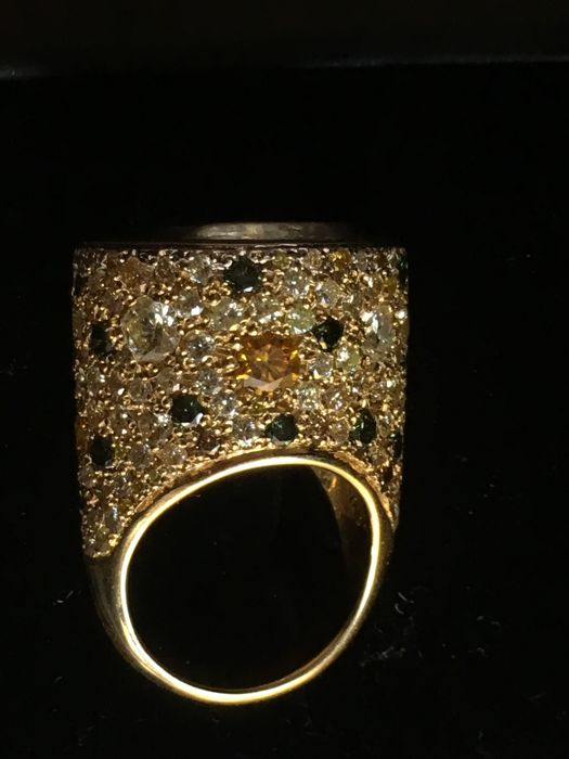 bague or style oriental